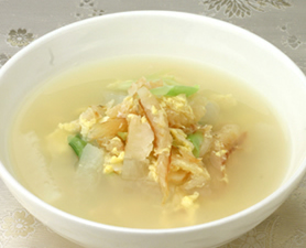 Bookuh Guk - Dried Codfish Soup - 북어국