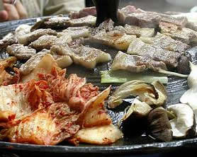 Samgyupsal - Grilled Pork Strips - 삼겹살