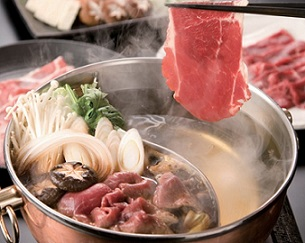 Sha-bu Sha-bu - Beef & vegetable Hot Pot - 샤부 샤부
