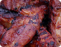 Spicy Grilled Pork Ribs