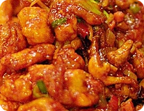Spicy & Sour Shrimp
